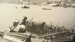 """Narvikin taisteluiden alettua satamaa alettiin nopeasti kutsua """"laivojen hautausmaaksi""""."""